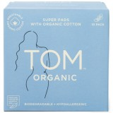 Tom Organic cotton pads with wings - super/overnight (10)
