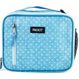 PackIt Freezable Classic Lunch Box - Chambray Dots