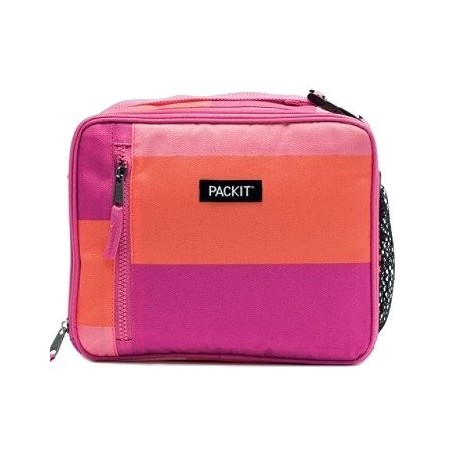 PackIt Classic Freezable Lunch Box - Pink Beach