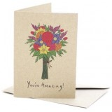 Deer Daisy Card - You're Amazing