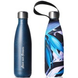 BBBYO Stainless Steel Water Bottle with Cover 500ml - Bird of Paradise