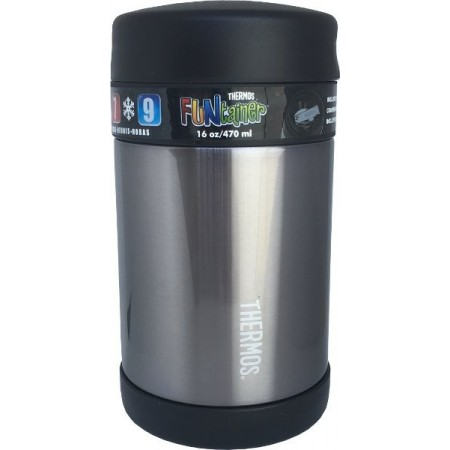 Thermos Funtainer Food Jar Charcoal - 470ml