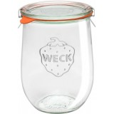 Weck Glass Tulip Jar 1L