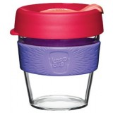 KeepCup Small Clear Coffee Cup 8oz (227ml) - Lychee
