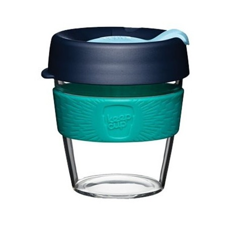 KeepCup Small Clear Coffee Cup 8oz (227ml) - Pistachio
