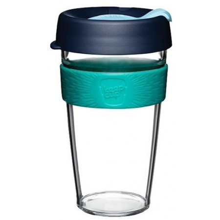 KeepCup Large Clear Coffee Cup 16oz (473ml) - Pistachio