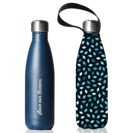 BBBYO Stainless Steel Water Bottle with Cover 500ml - Diamond