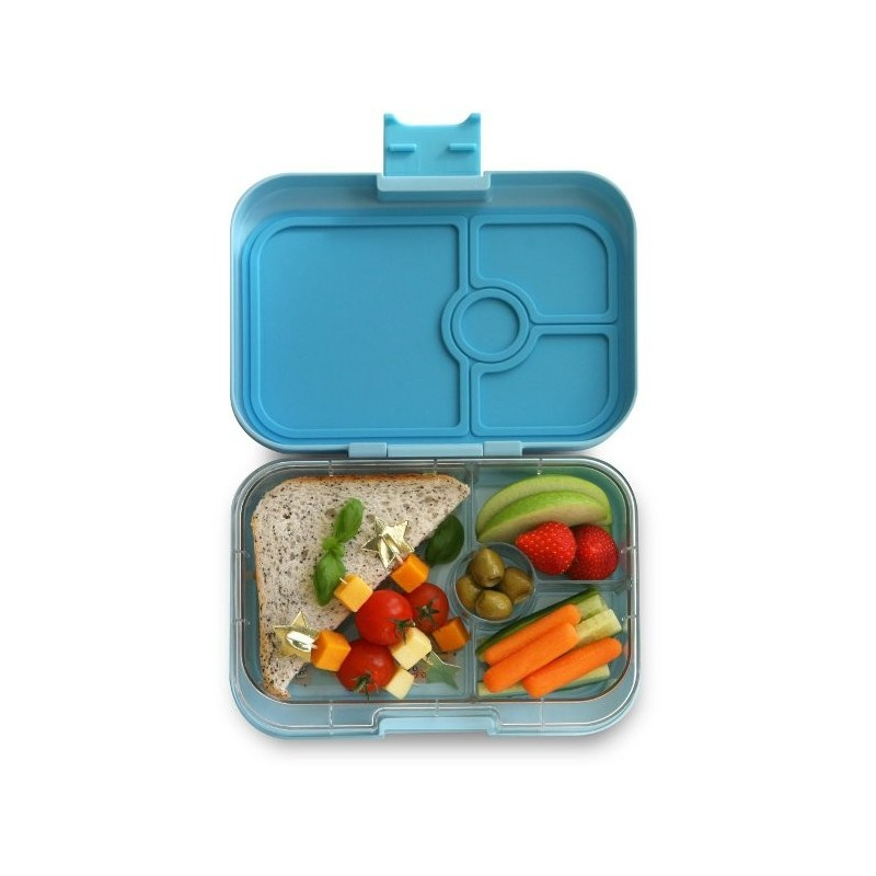 yumbox lunch box panino 4 compartment liberty light blue biome. Black Bedroom Furniture Sets. Home Design Ideas