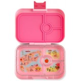 Yumbox Lunch Box - Panino 4 Compartment Grammercy Light Pink