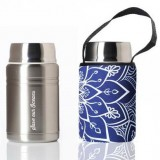 BBBYO 500ml Foodie with Cover - Mandala