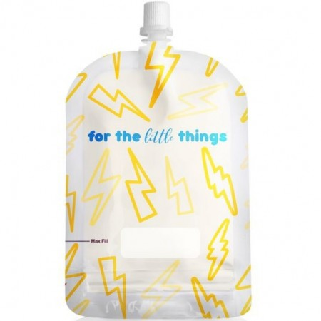 Sinchies Reusable Pouches 150ml (10 pack) - Lightning