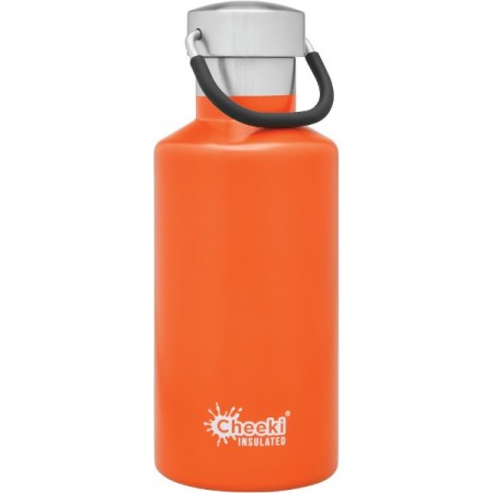 Cheeki 400ml Stainless Steel Insulated Bottle - Orange