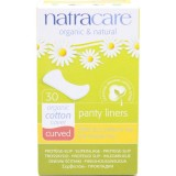 Natracare Organic Cotton Panty Liners 30pk - Curved