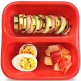 Goodbyn small meal container 570ml - red