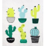 Swedish Dish Sponge Cloth - Cactus