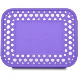 Lunchbots Spare Cover Bento - Dots Purple