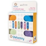 Lifefactory WeeGo glass baby bottle cap set