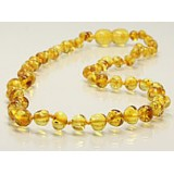 Buy Baltic amber teething necklace