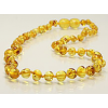 Baltic amber teething necklace - honey