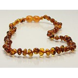 Buy Baltic amber teething necklace - honey