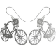 Polli stainless steel earrings - cycle
