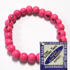 Giving Tree acai seed bracelet - pink