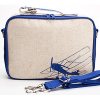 Insulated lunch box - blue airplane by SoYoung
