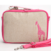 Insulated lunch box - pink giraffe by SoYoung