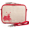 Insulated lunch boxes - red scooter by SoYoung