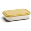 U Konserve stainless steel food container - rectangle (saffron)