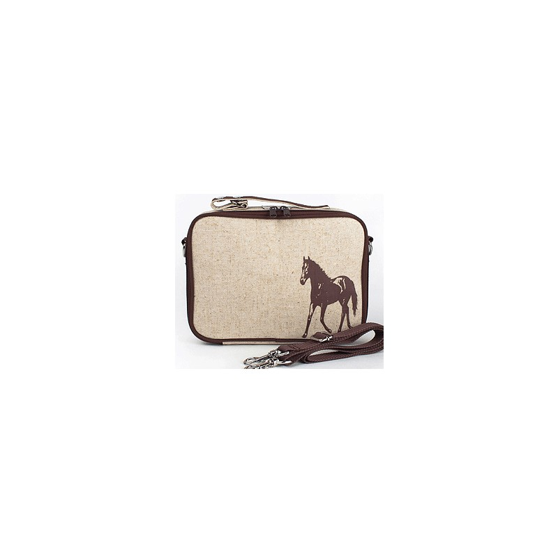 insulated lunch box brown horse by soyoung australia buy online or brisbane store. Black Bedroom Furniture Sets. Home Design Ideas