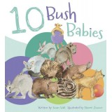10 Bush Babies - Board Book