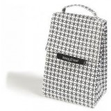 Keep Leaf insulated lunch bag - black & white