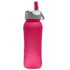 Nathan 0.7L  BPA Free plastic flip straw bottle - frosted berry