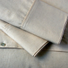 Hemp-organic cotton quilt/doona cover - king