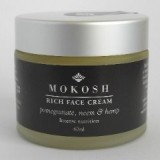 Mokosh rich face cream - pomegranate, neem & hemp