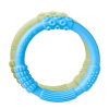 Lifefactory multi-sensory silicone teether duo - sky/spring green