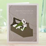 Buy PG greeting cards - what is done in love...
