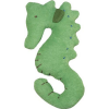 Under the Nile - organic cotton teething toy - seahorse