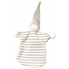 Under the Nile - organic cotton sleeping doll - tan stripe
