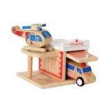 Buy Click Clack wood puzzle garage - hospital NEW