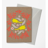 Earth Greetings 'Wildlife' greeting card - sugar gliders