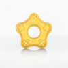 100% natural rubber teether toy - starfish