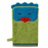 Buy Organic cotton bath mitt - funny bird