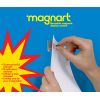 Magnart magnetic hanger - wall magnets pack of 50
