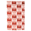 Red Waratah tea towel