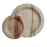 Buy Palm leaf plates - 25 mini round