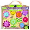 Green start wooden puzzle - circle garden (chunky)