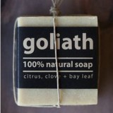 Goliath palm oil free extra large soap bar
