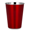 Ecococoon stainless steel cup - red ruby